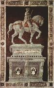 UCCELLO, Paolo Equestrian Portrait of Sir John Hawkwood (mk08) oil painting picture wholesale